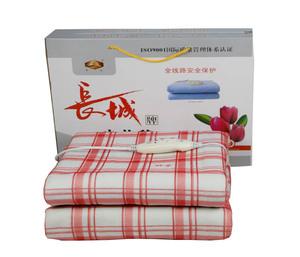 印花调温型电热毯
